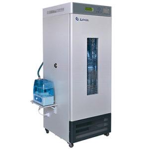 Incubadora de temperatura y humedad constante con pantalla LED.